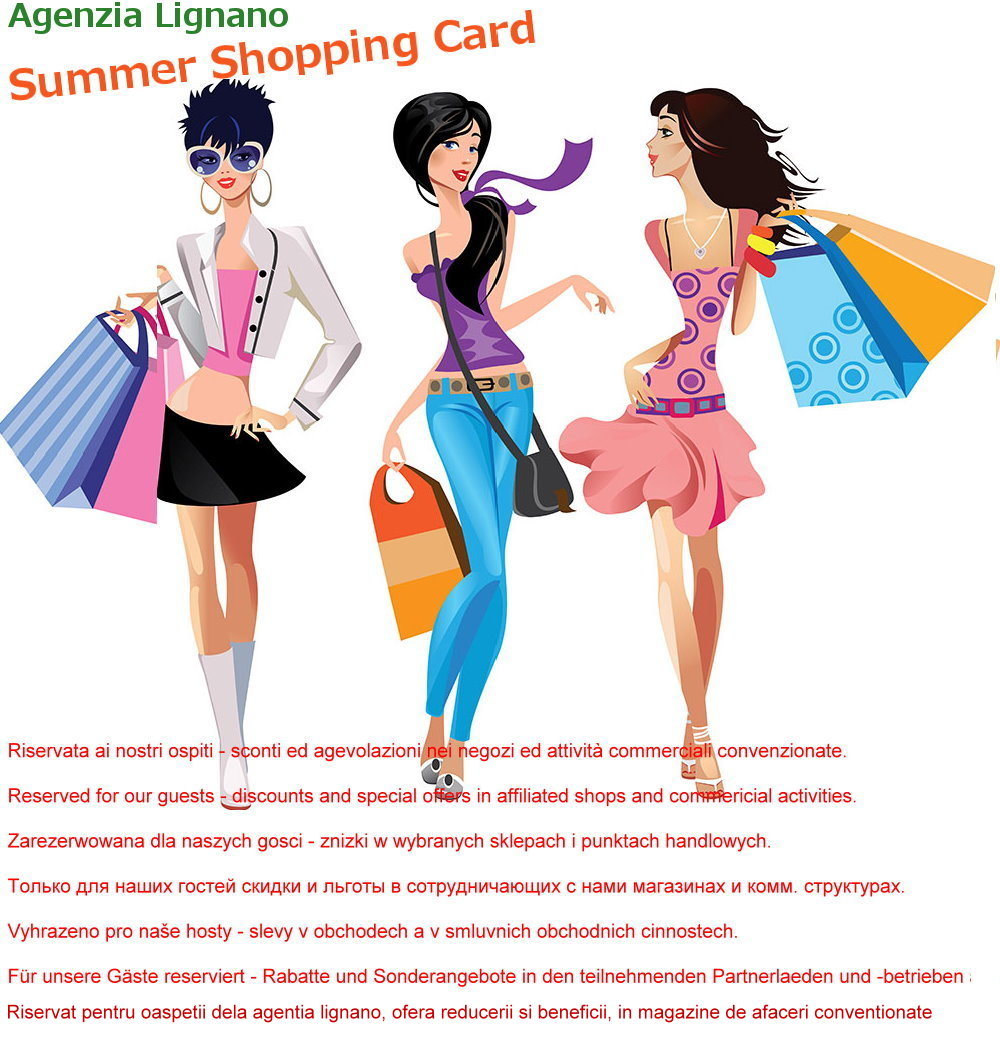 Agenzia Lignano Shopping Card